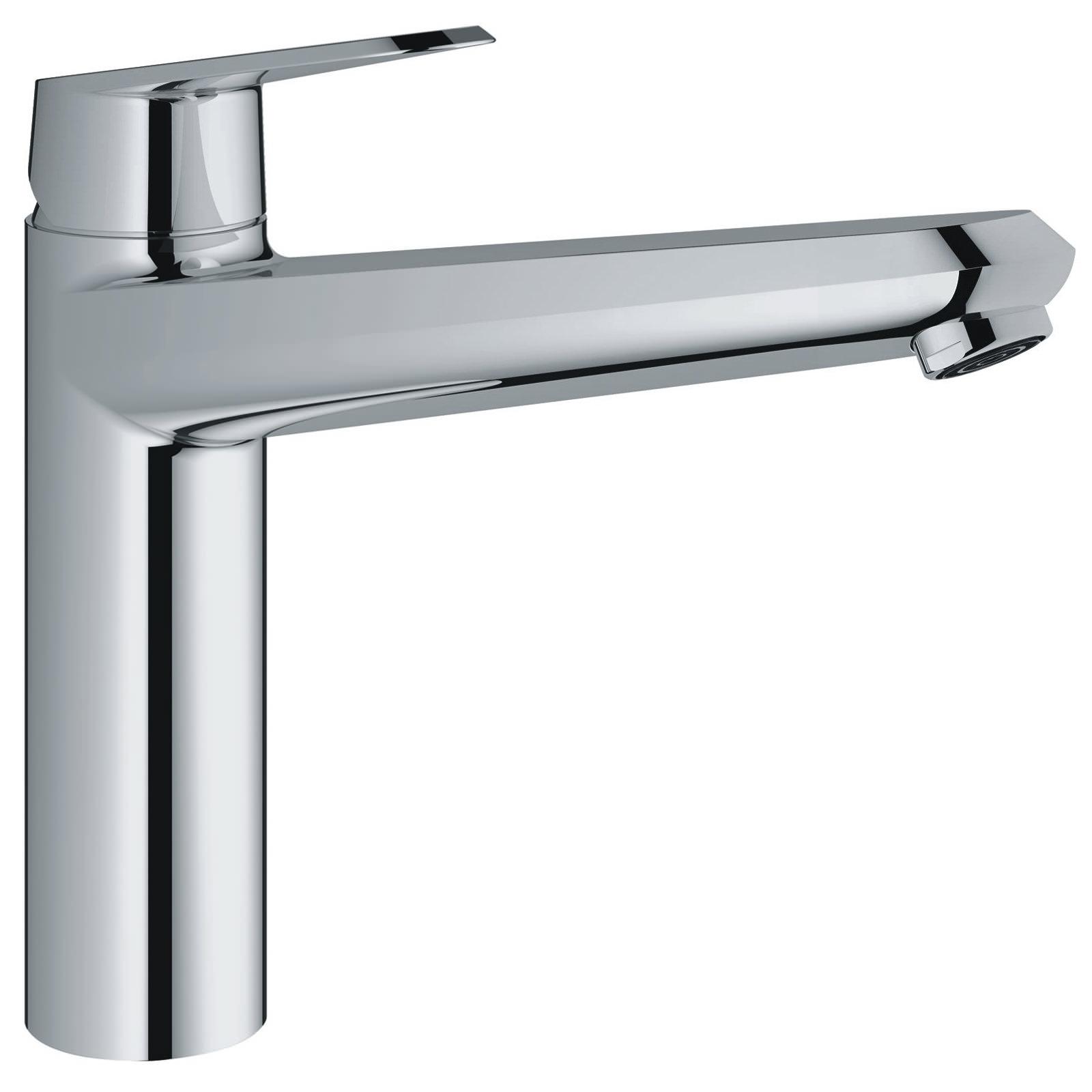 grohe eurodisc cosmopolitan chrome mono sink mixer tap 33770002. Black Bedroom Furniture Sets. Home Design Ideas