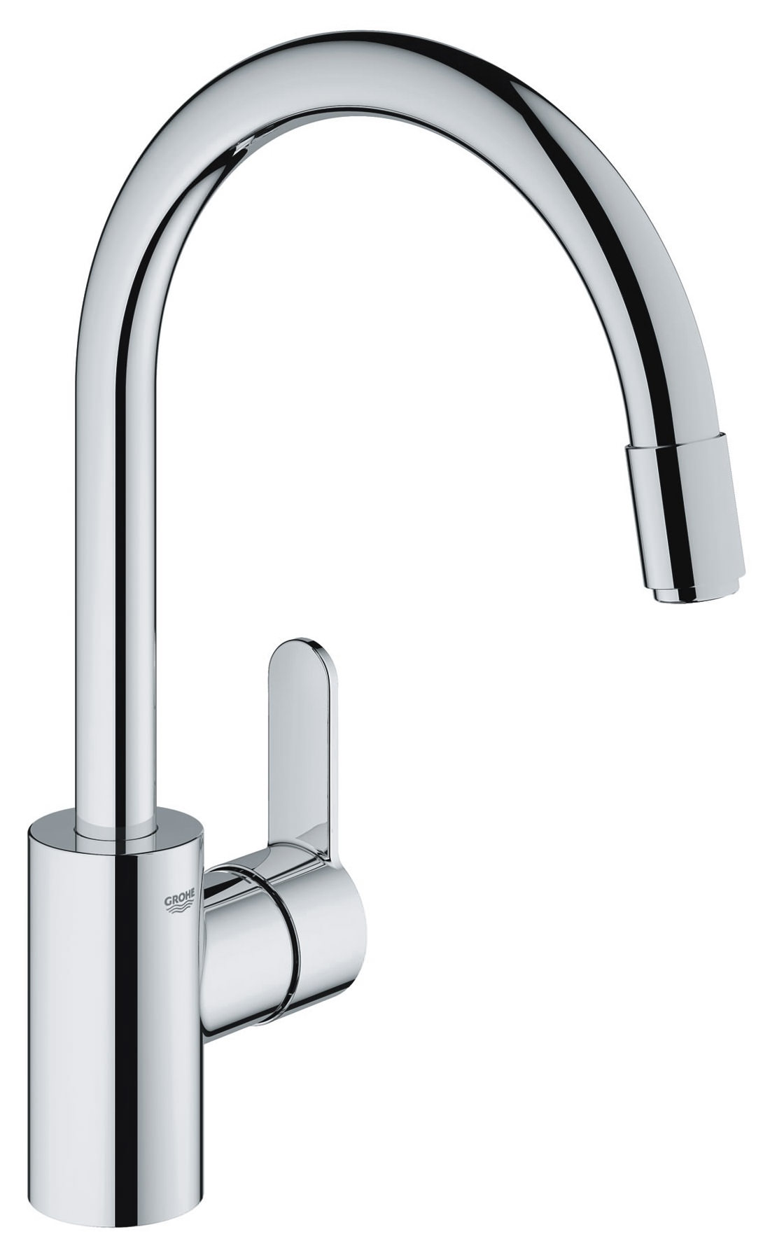 grohe eurostyle cosmo sink mixer tap with pull out mousseur spout 31126002. Black Bedroom Furniture Sets. Home Design Ideas