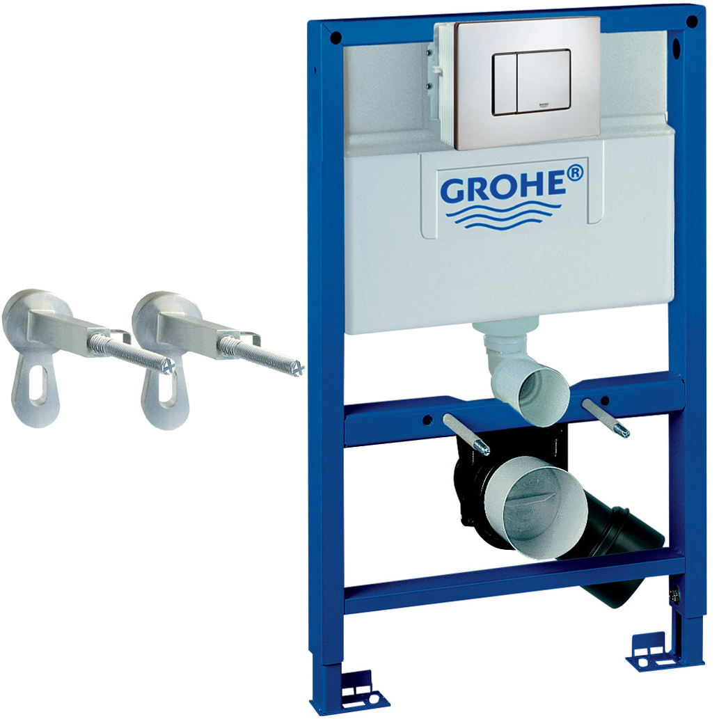 Grohe Rapid Sl 3 In 1 Set For Wc With Flushing Cistern