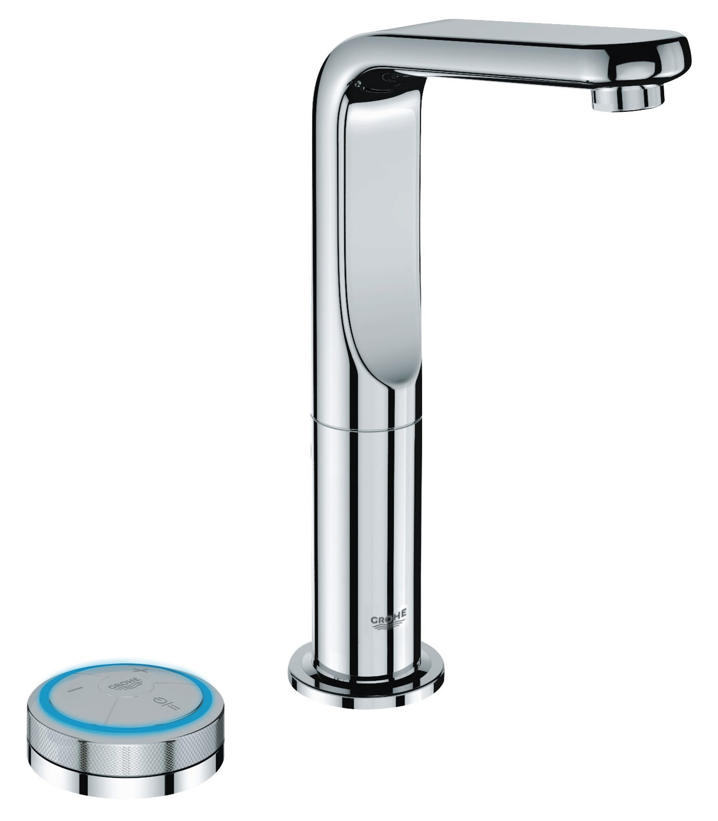 grohe spa veris f digital basin mixer tap with digital. Black Bedroom Furniture Sets. Home Design Ideas