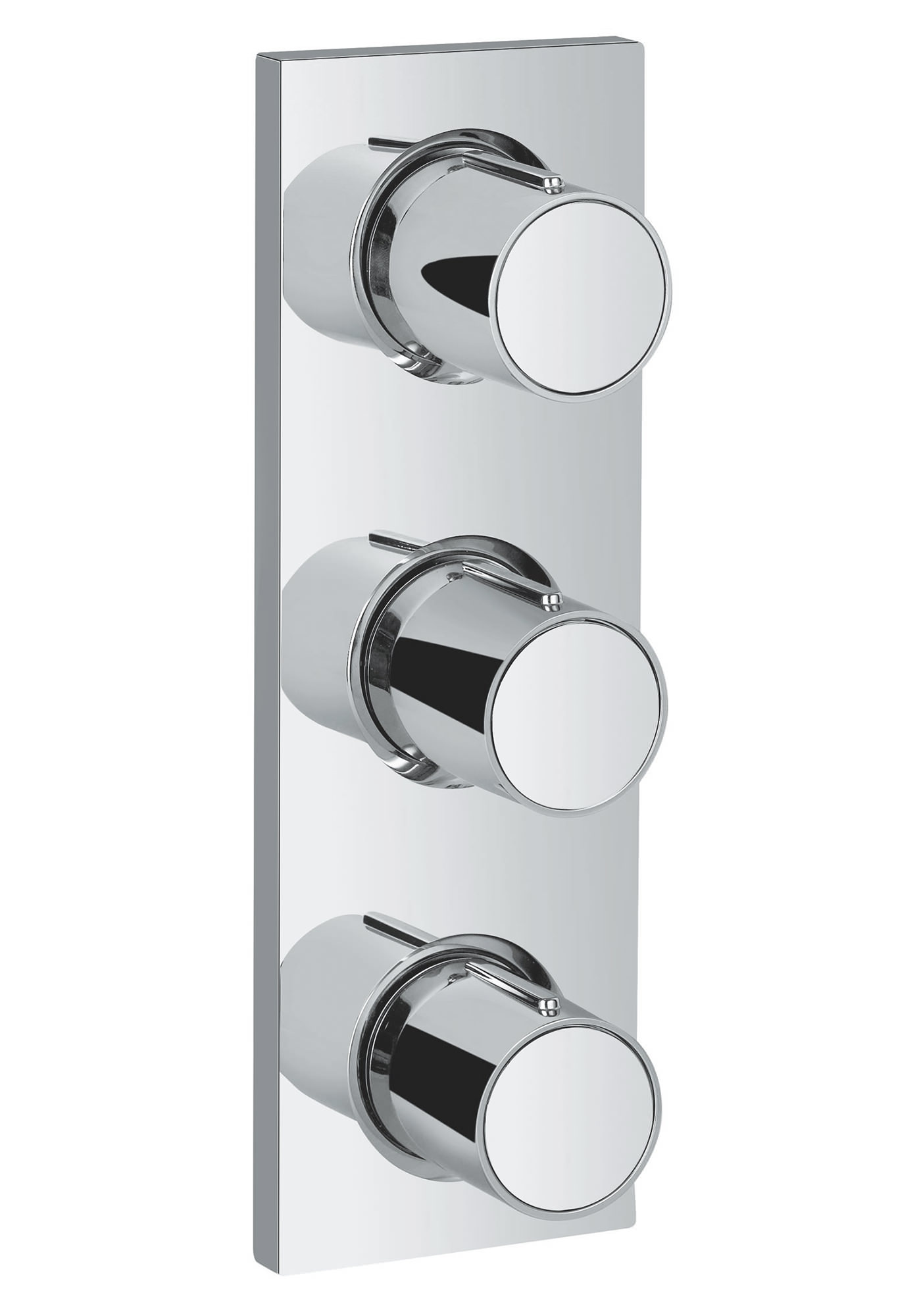 Grohe Spa Grohtherm F Trim Concealed Shower Valve With Triple Volume ...