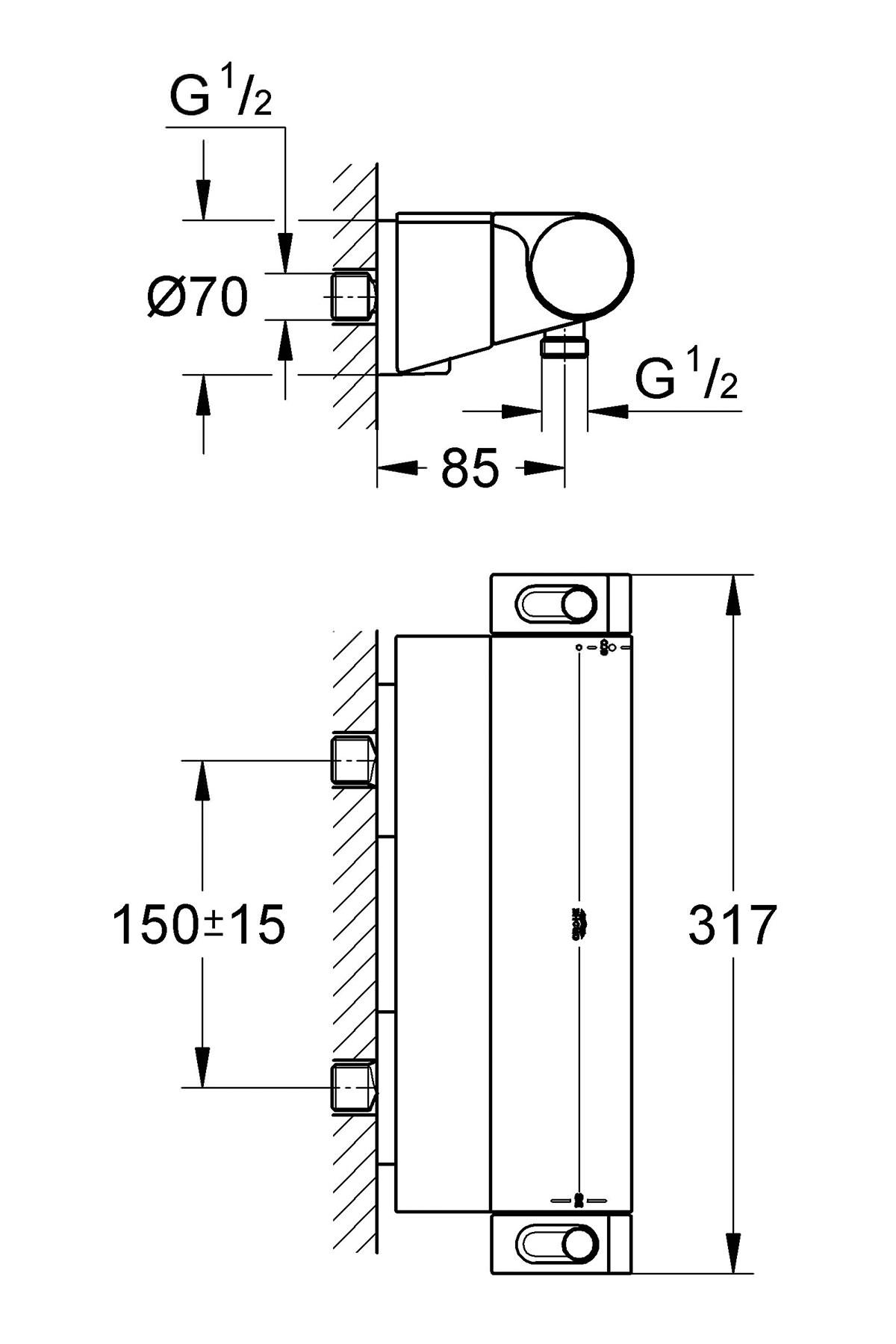 Neu Grohtherm 1000 Ersatzteile Design