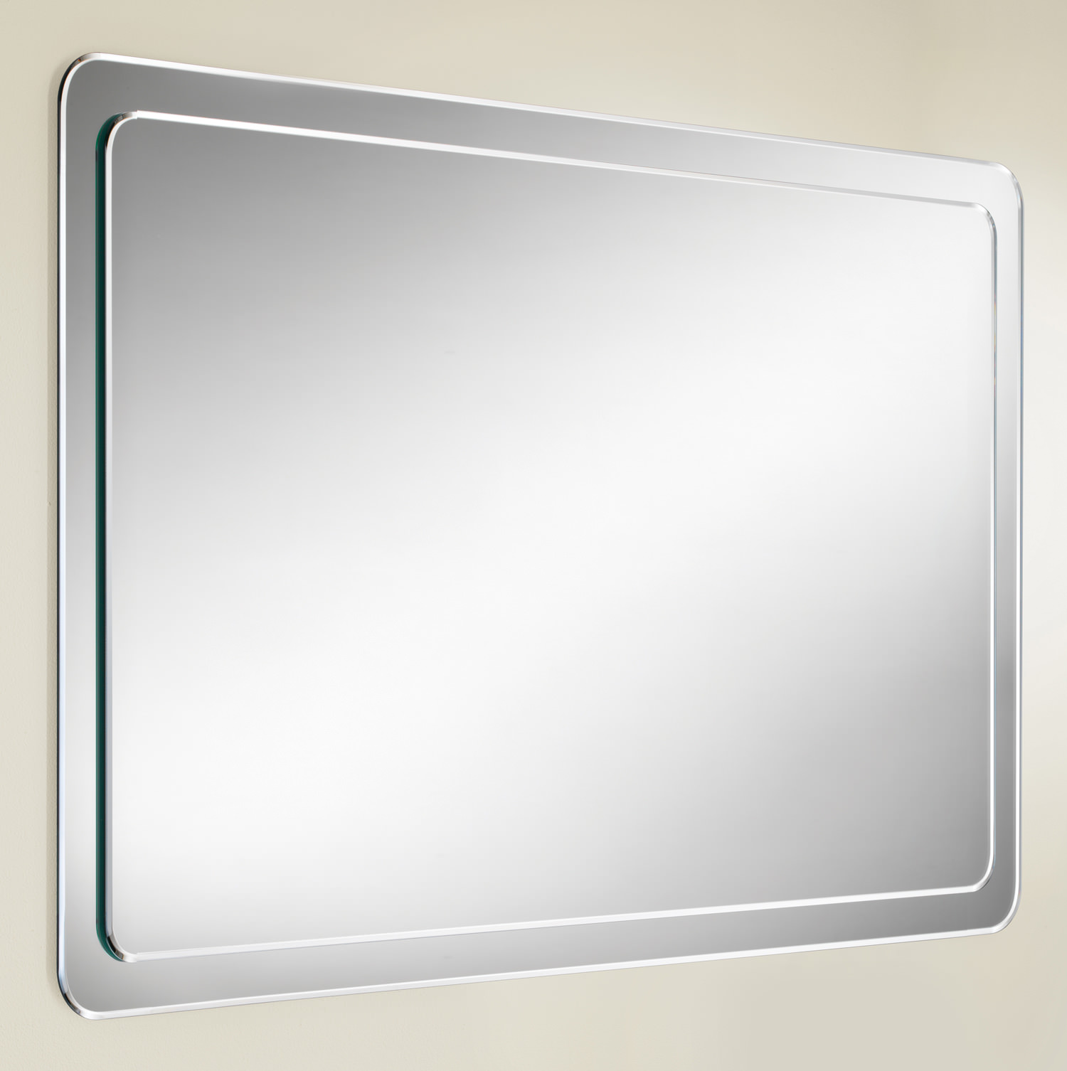 hib abbi bevelled mirror on mirror with rounded corners 76600000