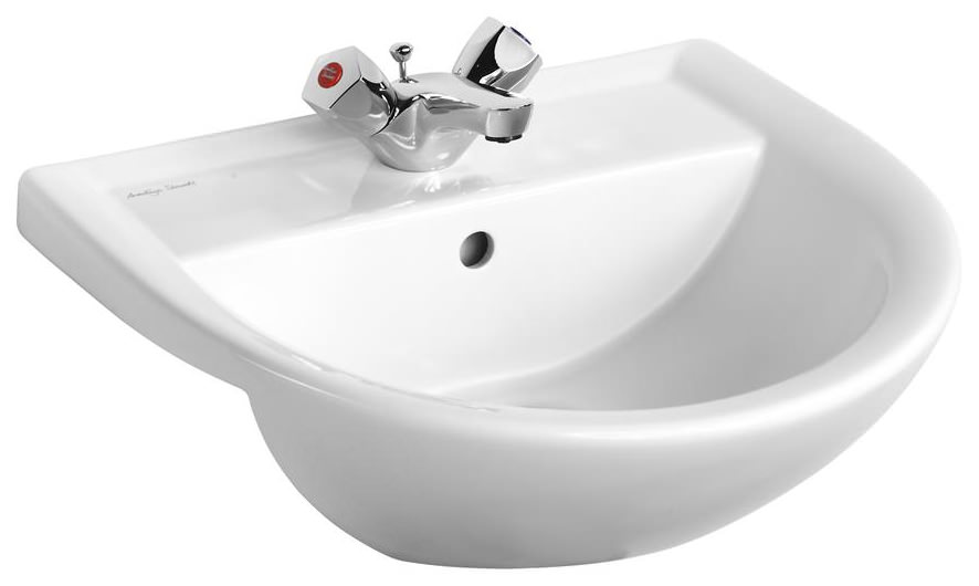 armitage shanks sandringham 21 semi countertop basin 50cm with 1 tap hole     armitage shanks sandringham 21 semi countertop basin 50cm with 1      rh   qssupplies co uk