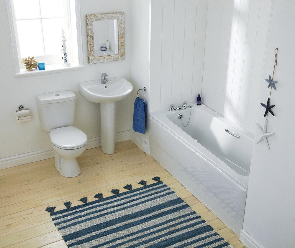 Armitage Shanks Sandringham 21 Water Saving Bath 1700 X