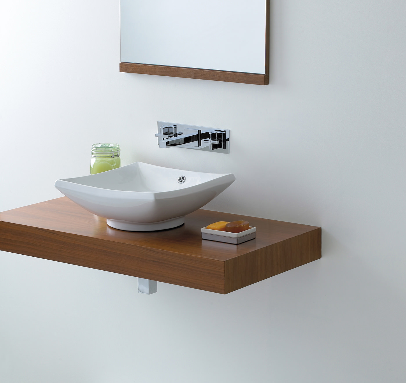 Small Counter Top Basins : ... basins counter top basins phoenix counter top square shape wash basin