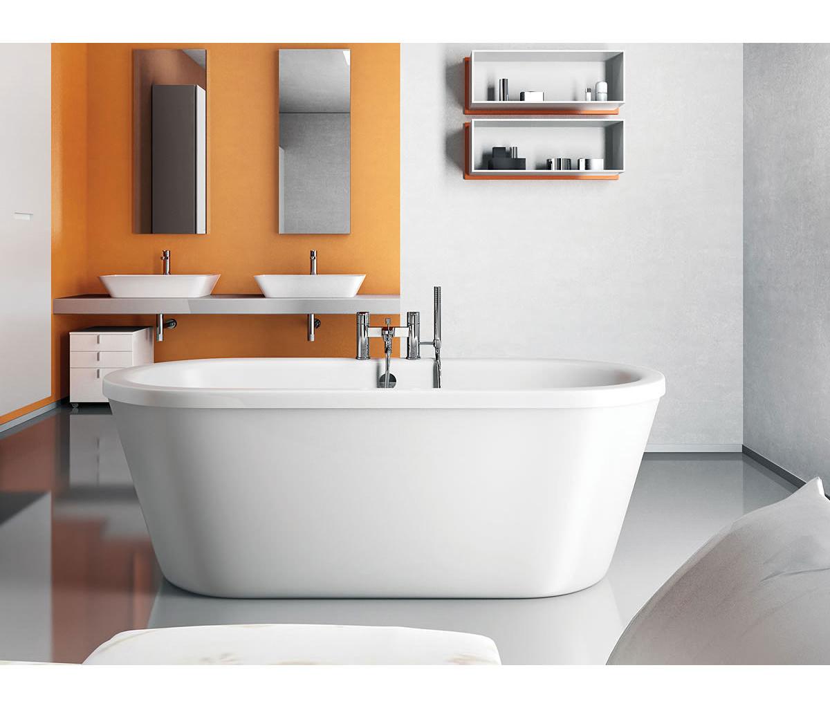 Clearwater nouveau modern freestanding bath 1780 x 810mm m1a for Bathroom design kilmarnock