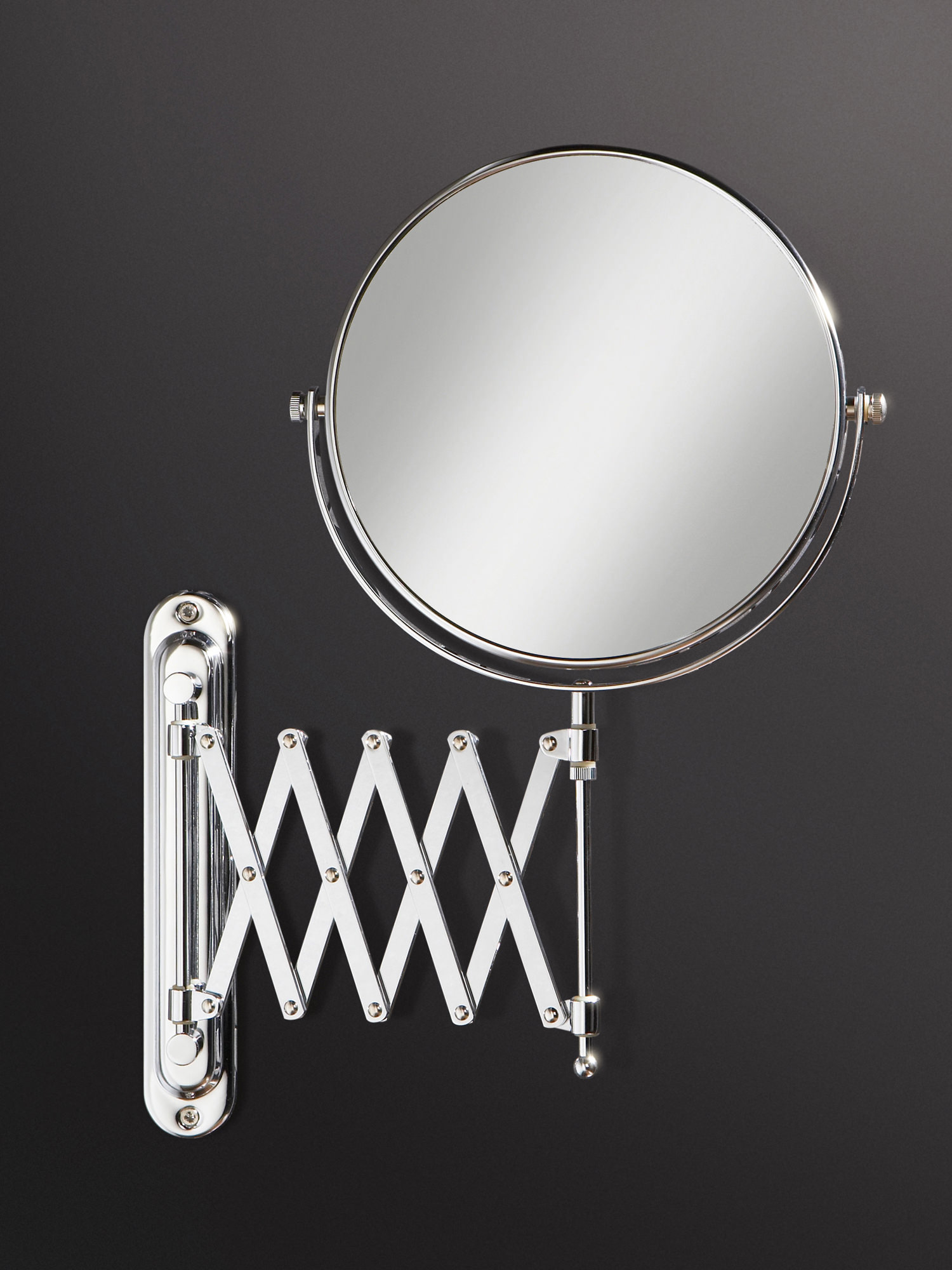 Hib Rossi Extendable Magnifying Bathroom Mirror 27200