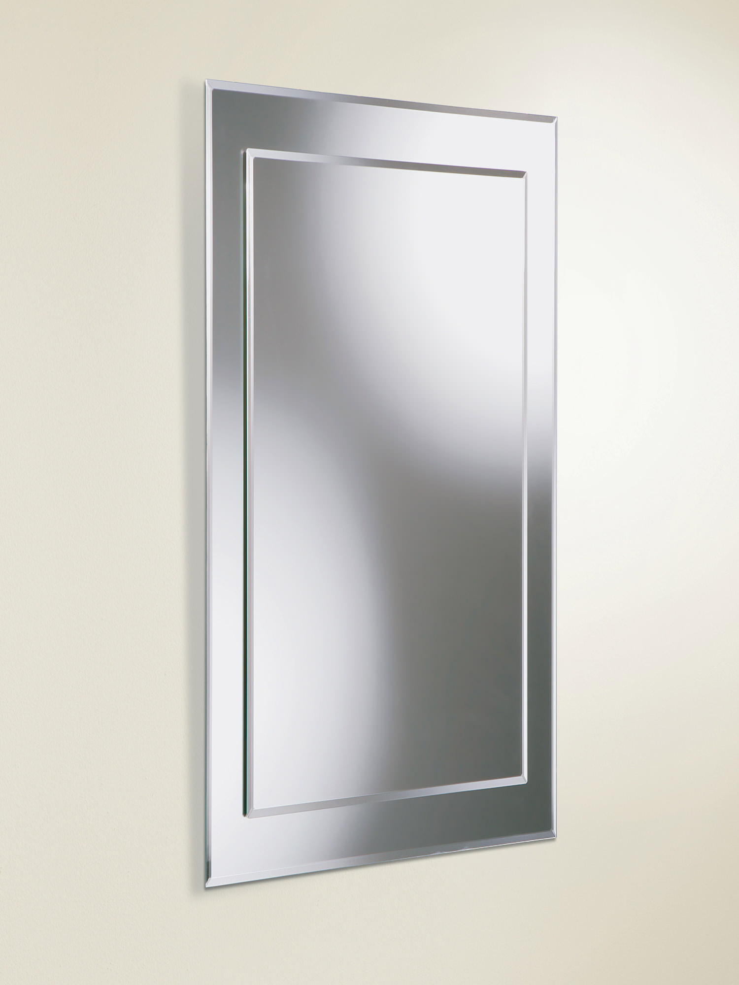 800mm bathroom mirror hib rectangular bevelled mirror on mirror 400 x 800mm 10052