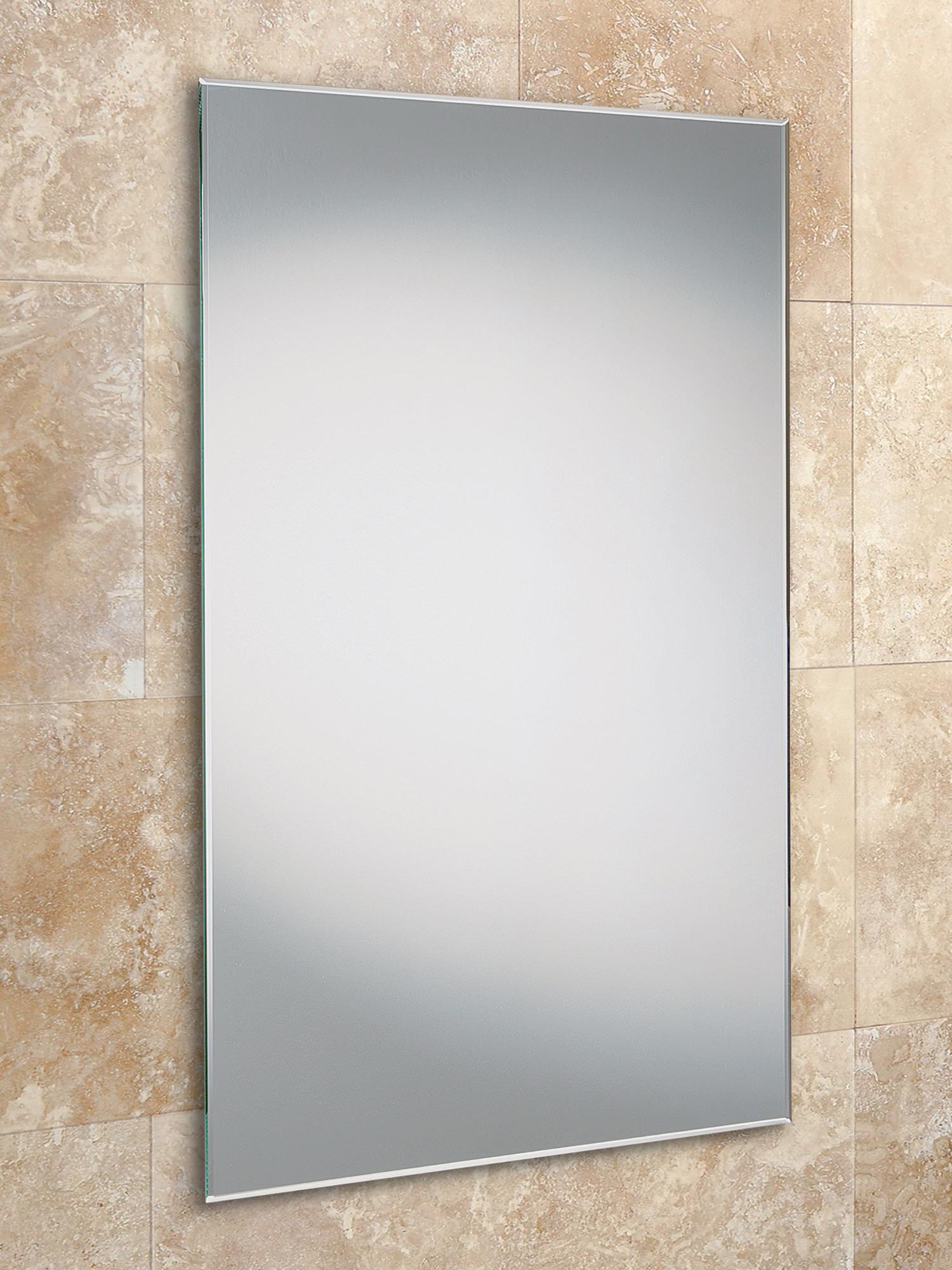 Bevelled Bathroom Mirror Hib Fili Slimline Mirror With Bevelled Edges 400x800mm 76030000