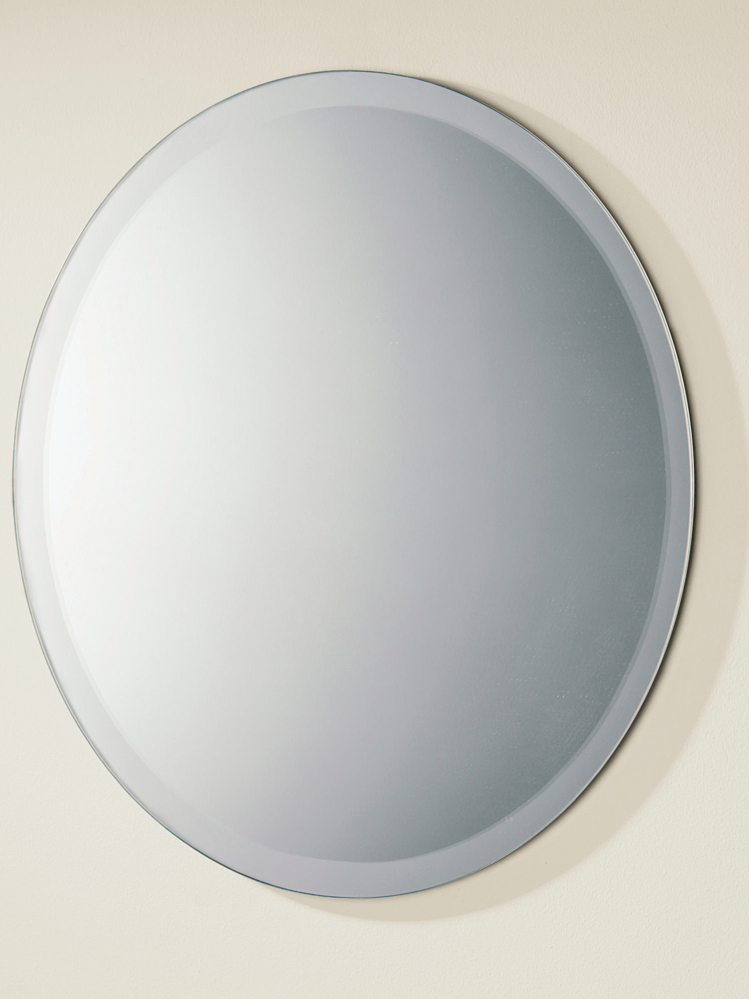 Bevelled Bathroom Mirror Hib Rondo Circular Mirror With Wide Bevelled Edge 61504000