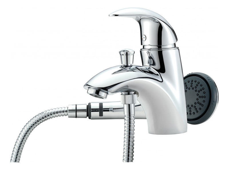 Tre Mercati Novara Mono Bath Shower Mixer Tap with Shower Kit - 65060