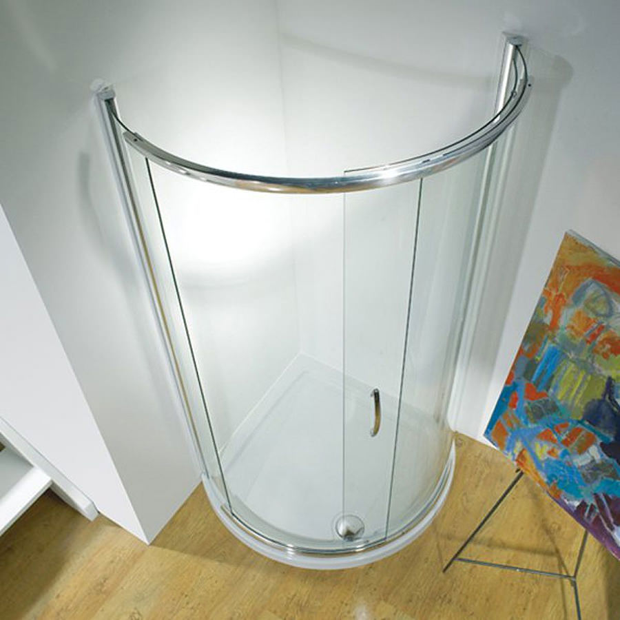 Infinite 1200x900mm Lh Enclosure Side Access With Tray And
