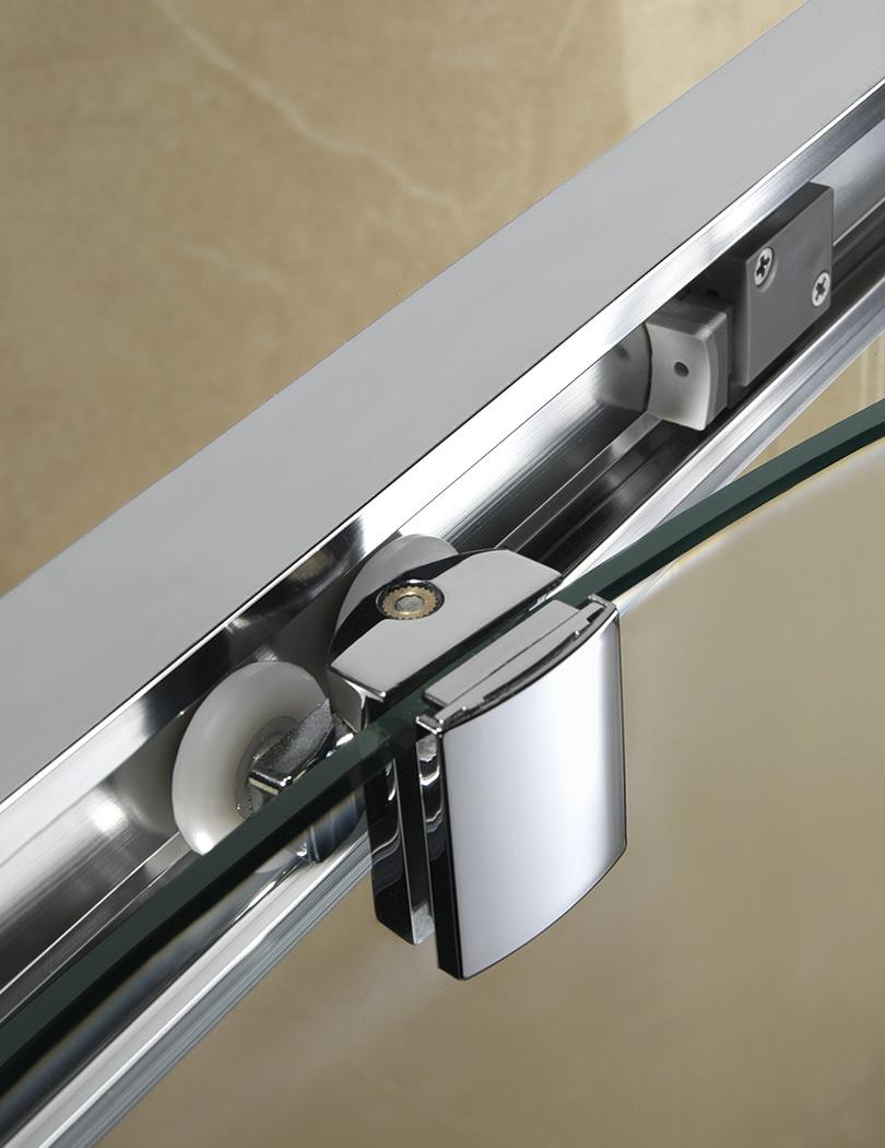 Twyford Geo6 1100mm Sliding Shower Door Left Or Right Hand