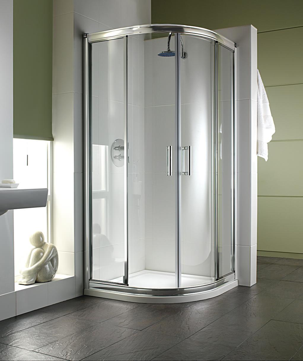 Twyford Hydr8 Quadrant Shower Enclosure 900mm H85700cp