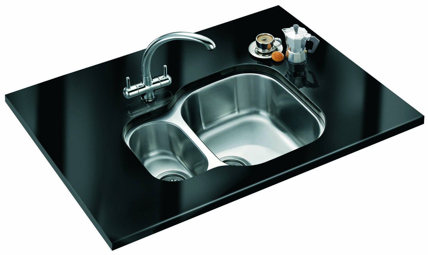 Franke Sinks Undermount Stainless Steel : ... Franke Compact Plus CPX 160P Stainless Steel 1.5 Bowl Undermount Sink