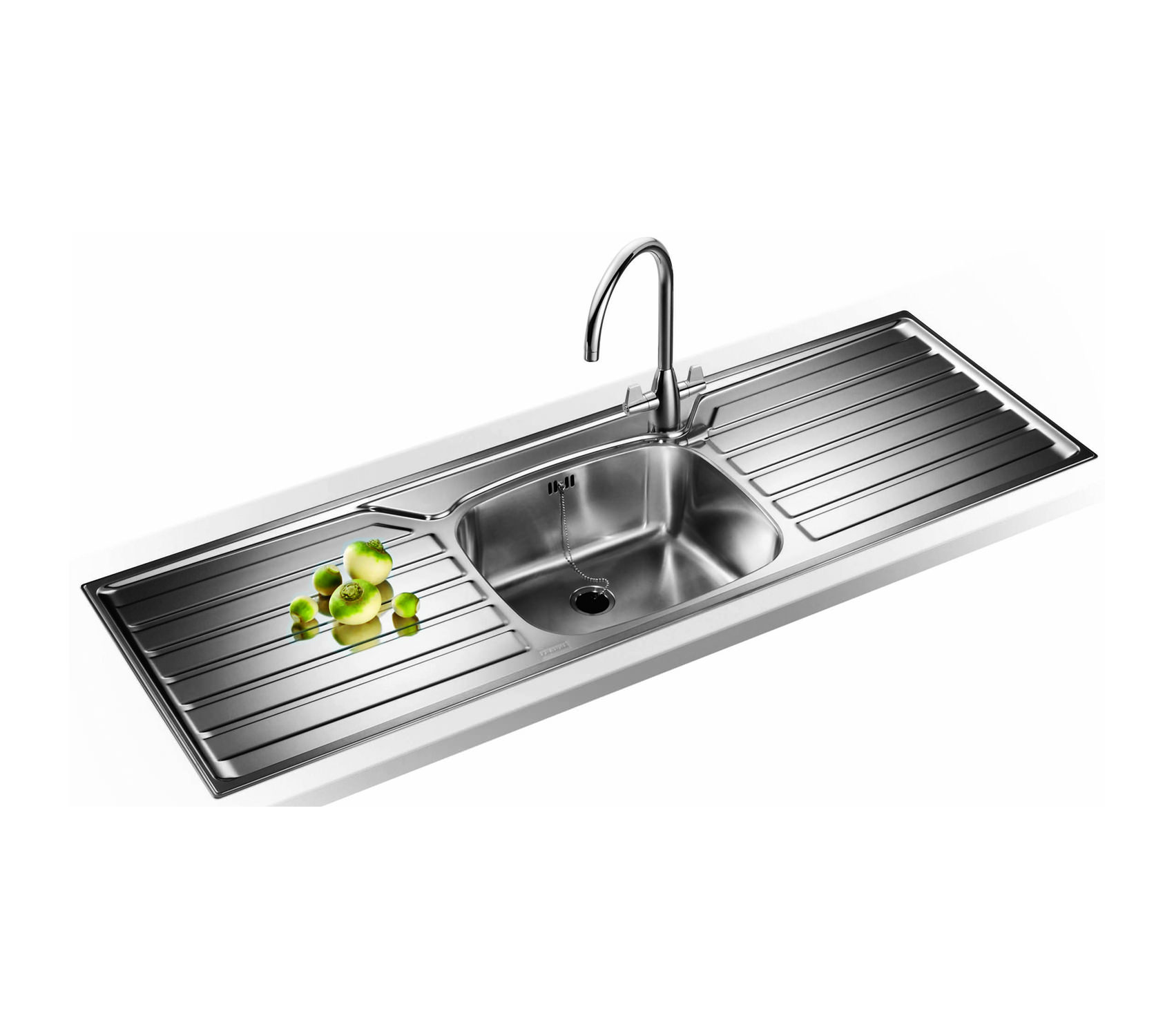 Franke Uk Designer Pack Ukx 612 Stainless Steel Sink And Tap