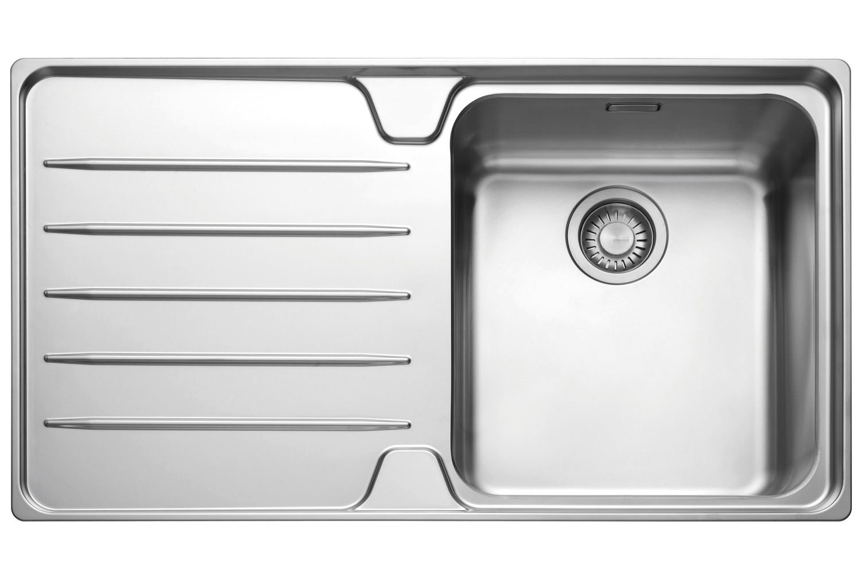 Franke Laser LSX 611 1.0 Bowl Stainless Steel Kitchen Inset Sink Image