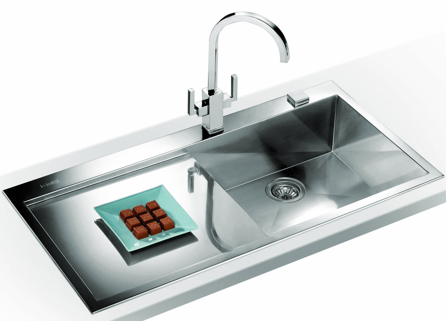 Best Stainless Steel Sinks Rated : ... of Franke Planar PPX 211 Slim-Top 1.0 Bowl Stainless Steel Inset Sink
