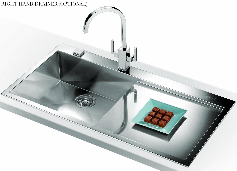 Franke Inset Sink : ... of Franke Planar PPX 211 Slim-Top 1.0 Bowl Stainless Steel Inset Sink