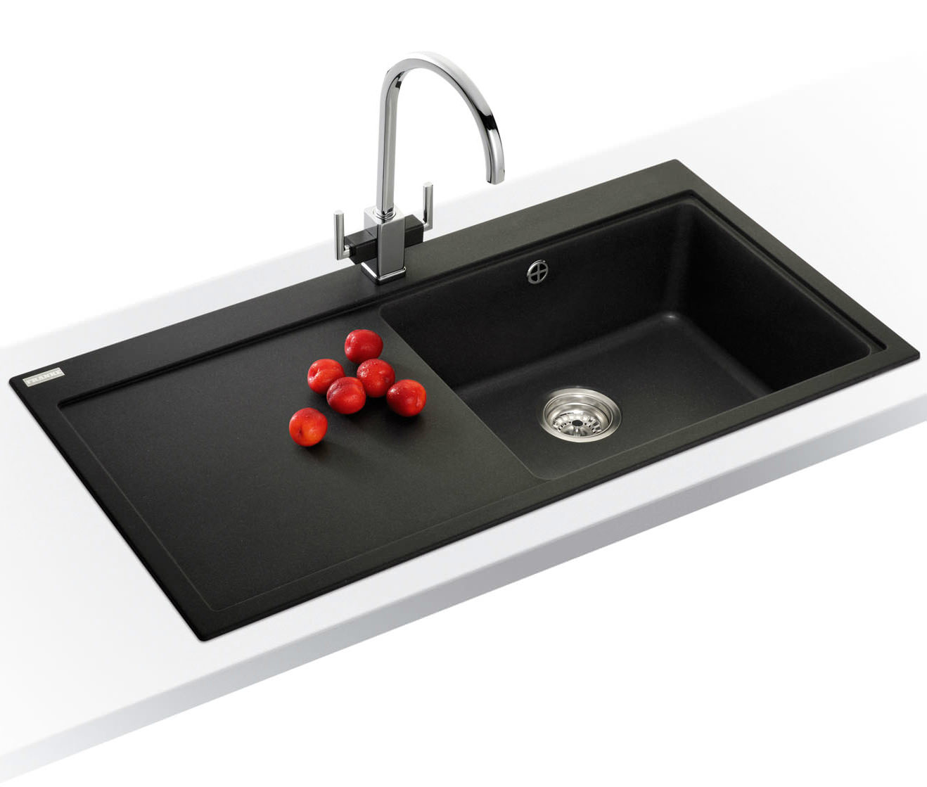 ... of Franke Mythos MTG 611 Fragranite Onyx 1.0 Bowl Inset Kitchen Sink