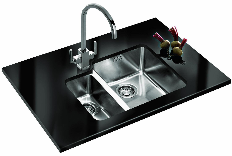 Kubus Sink Franke : Franke Kubus Designer Pack KBX 160 34-16 Stainless Steel Sink And Tap ...