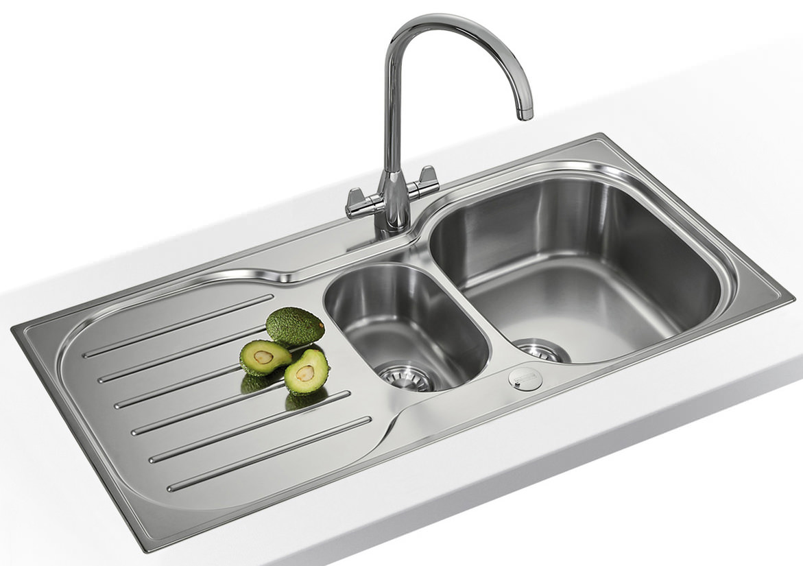 Franke Sink Cleaner : ... of Franke Compact Plus CRX P 651 1.5 Bowl Stainless Steel Inset Sink