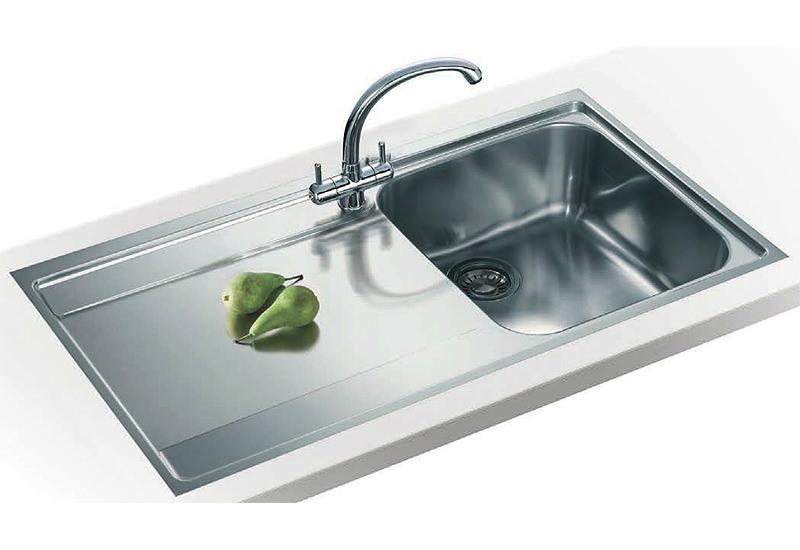 Franke Sink Tops : Franke Maris Slim-Top Propack MRX 211 Stainless Steel Sink And Tap ...