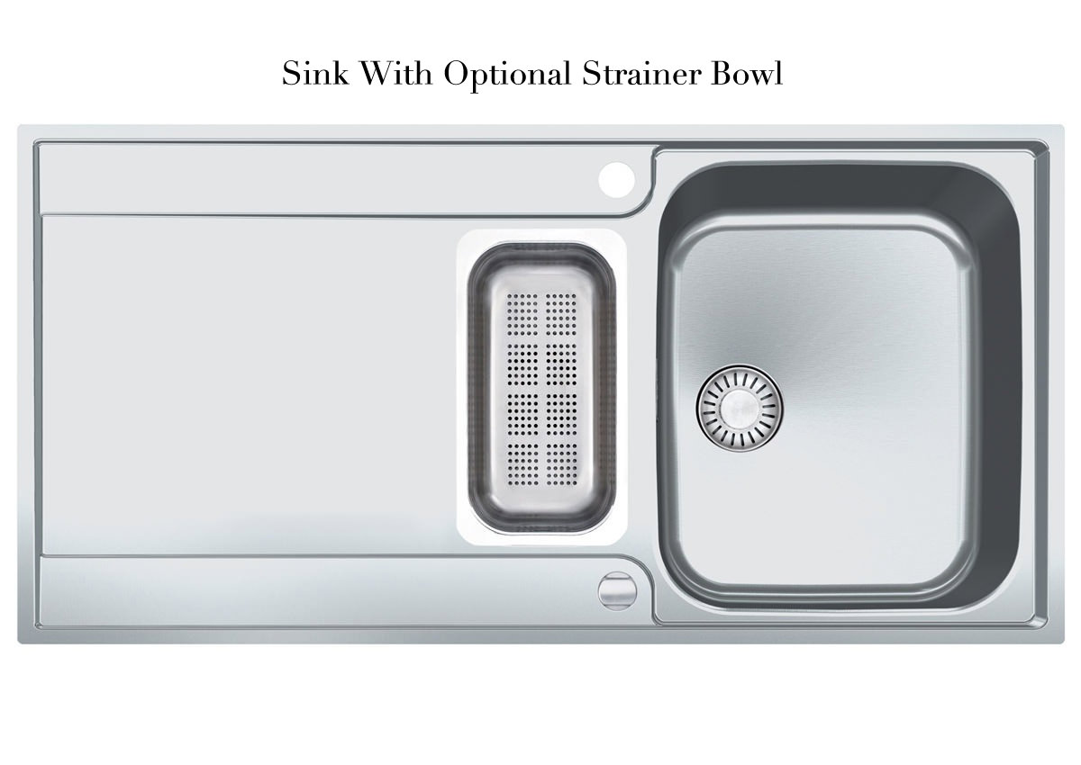 Franke Maris Slim-Top MRX 251 Stainless Steel 1.5 Bowl Inset Sink ...