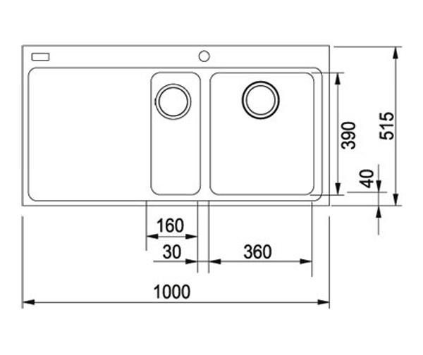Franke Mythos Sink And Tap Pack : Franke Mythos Designer Pack MTG 651-100 Fragranite Coffee Sink And Tap ...