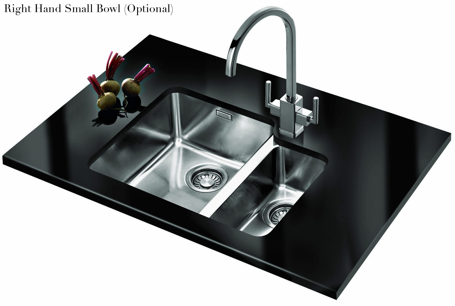 16 Undermount Sink : ... of Franke Kubus KBX 160 34-16 Stainless Steel 1.5 Bowl Undermount Sink