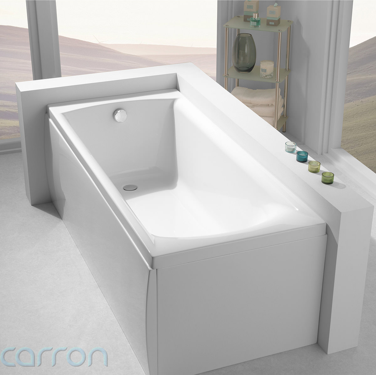 Carron Delta Acrylic Bath 1400 X 700mm Cabde145pa Q4 02047