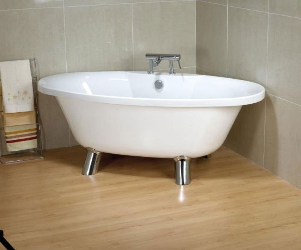 Carron elysee carronite freestanding bath 1800 x 900mm for Bath 1800