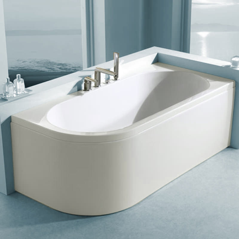 Corner Bath : ... image of Carron Status Offset Corner Right Hand Bath 1700 x 725mm