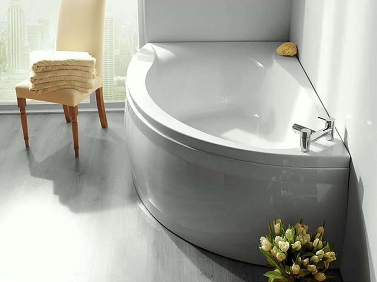 Carron Dove Offset Corner Left Hand Bath 1550 X 950mm Q4