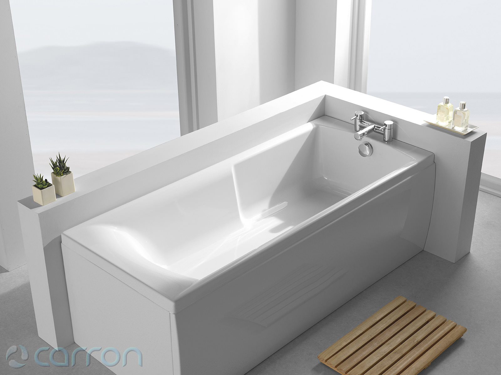Carron Matrix 5mm Acrylic Single Ended Bath 1600 X 700mm Q4 02124