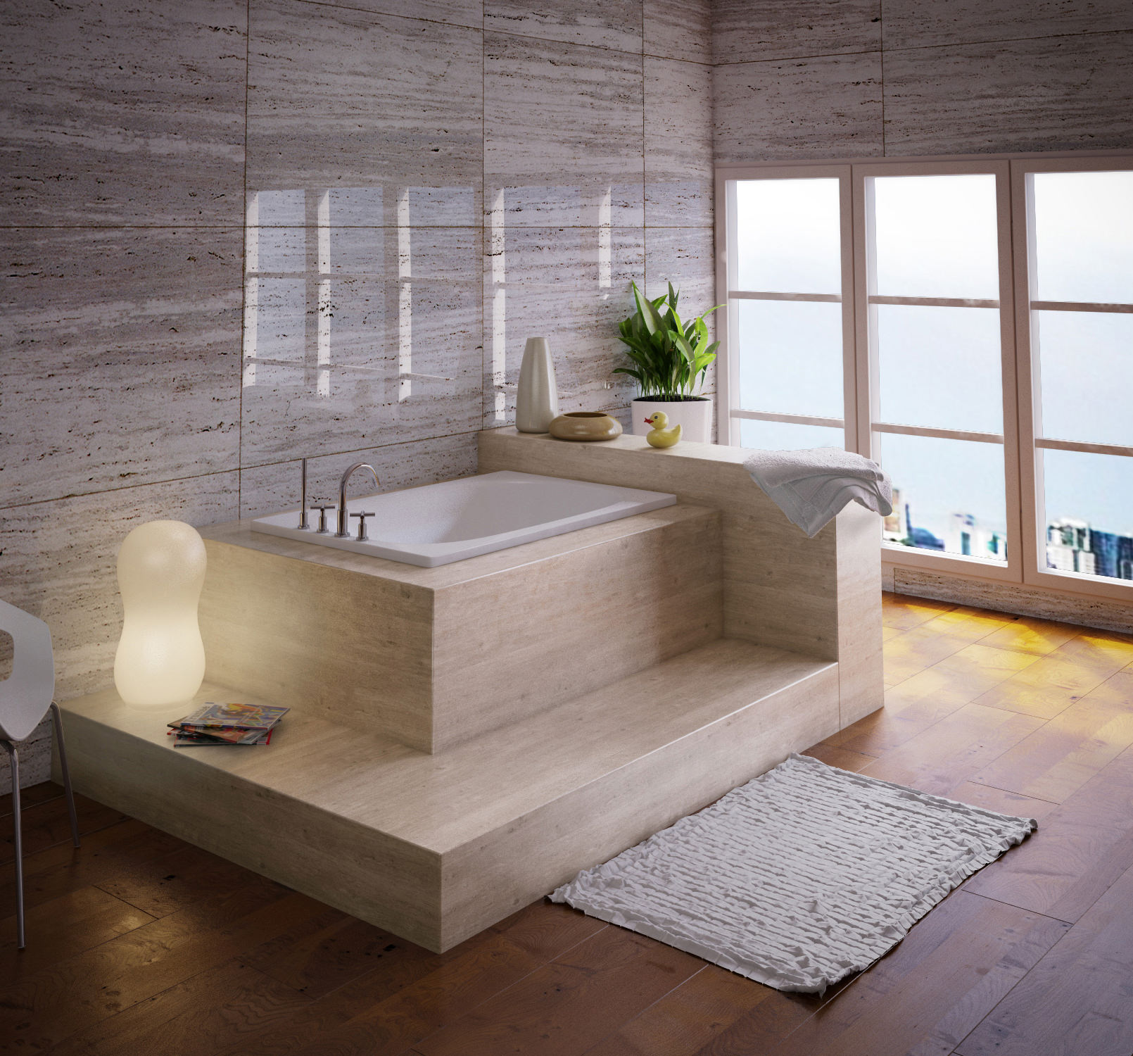 Bette Labette Rectangular Super Steel Bath 1200 X 700mm