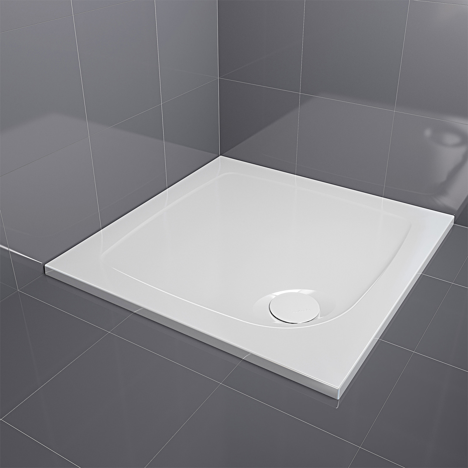 Square Shower Trays | Small & Large Sizes Available | QS Supplies