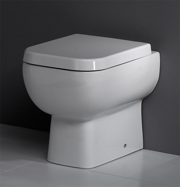 Rak Series 600 Back To Wall Wc Pan With Soft Close Seat 500mm