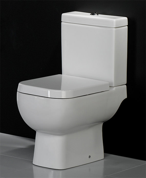 rak series 600 close coupled wc pack with soft close seat. Black Bedroom Furniture Sets. Home Design Ideas