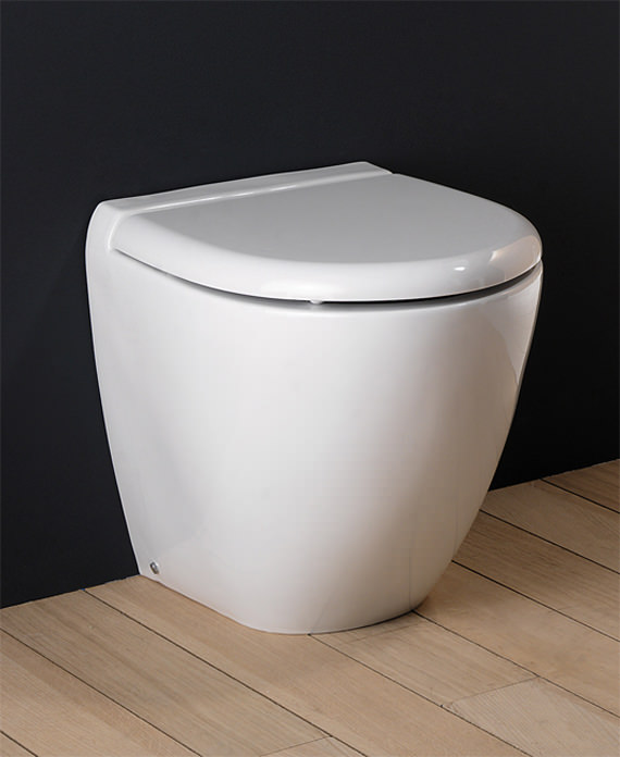Rak Reserva Back To Wall Wc Pan With Standard Toilet Seat
