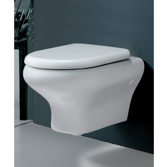 Rak Compact Wall Hung Toilet Pan With Urea Soft Close Seat