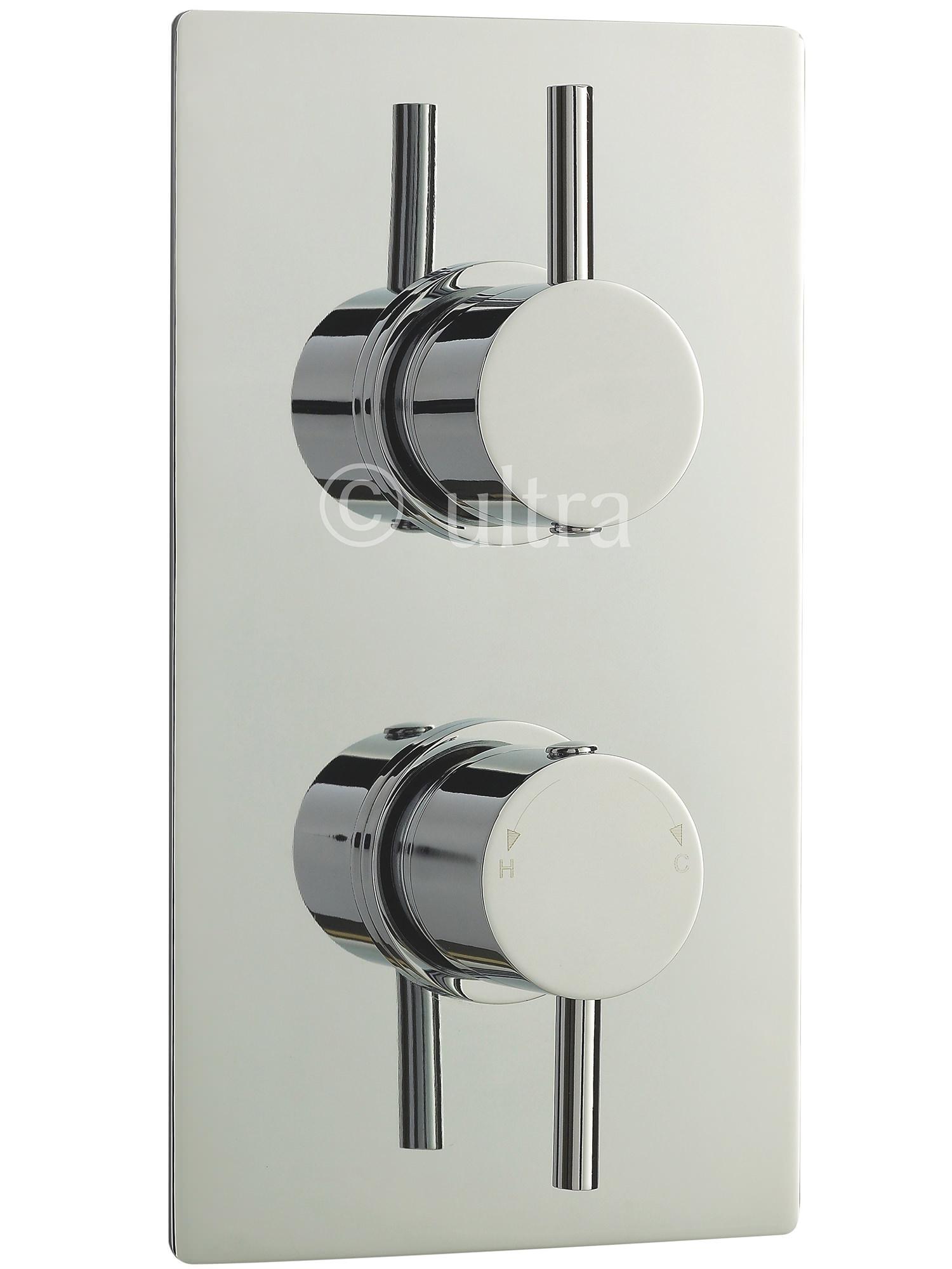 Premier Bathroom Quest Rectangular Twin Concealed