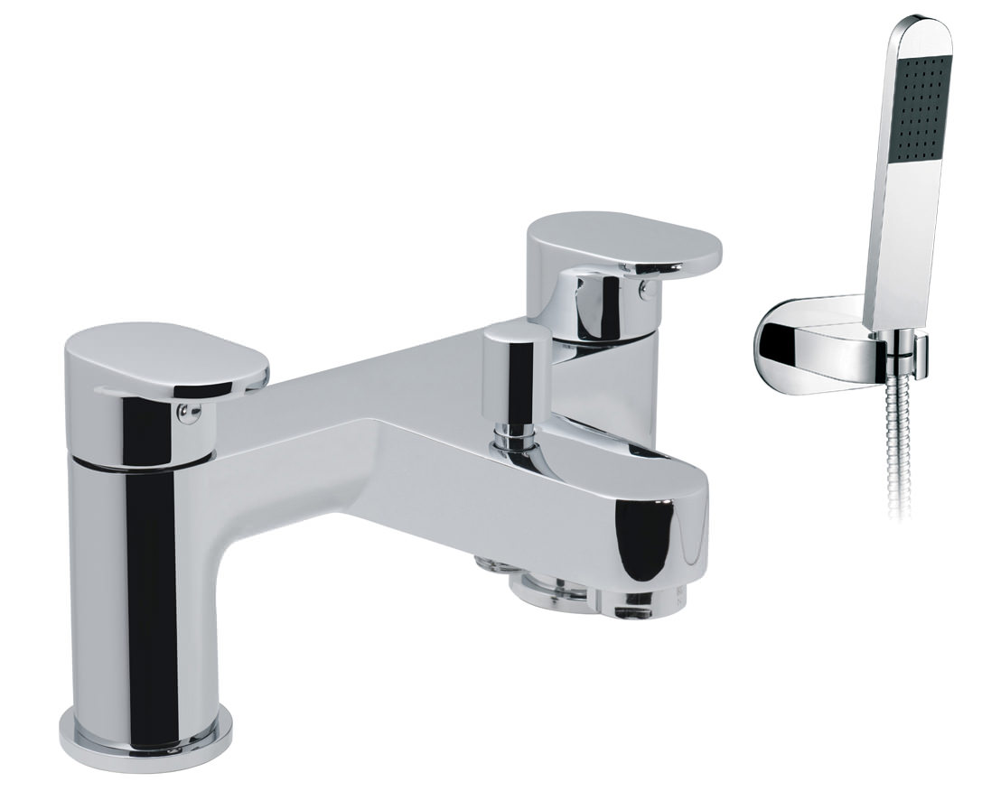 Vado Life 2 Hole Deck Mounted Bath Shower Mixer Tap- LIF
