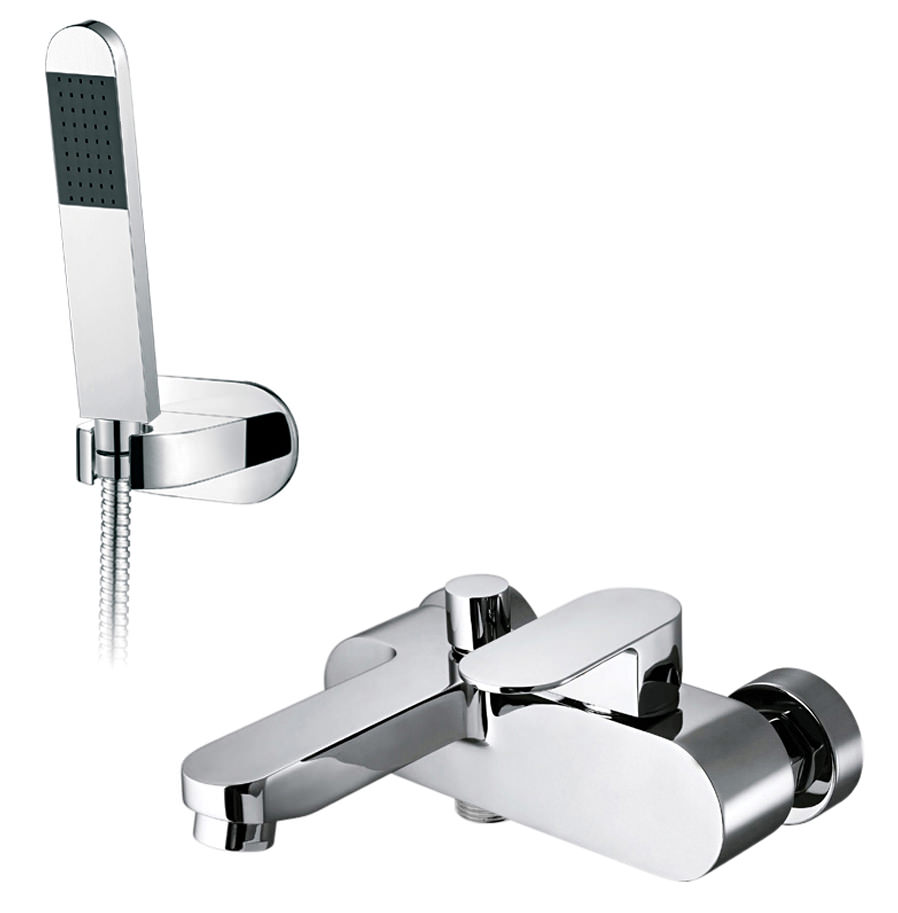 Vado Life Exposed Wall Mounted Bath Shower Mixer Tap Lif