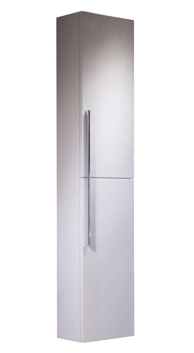 Roper rhodes envy 300mm tall white storage cupboard enc300w for 300mm tall kitchen unit