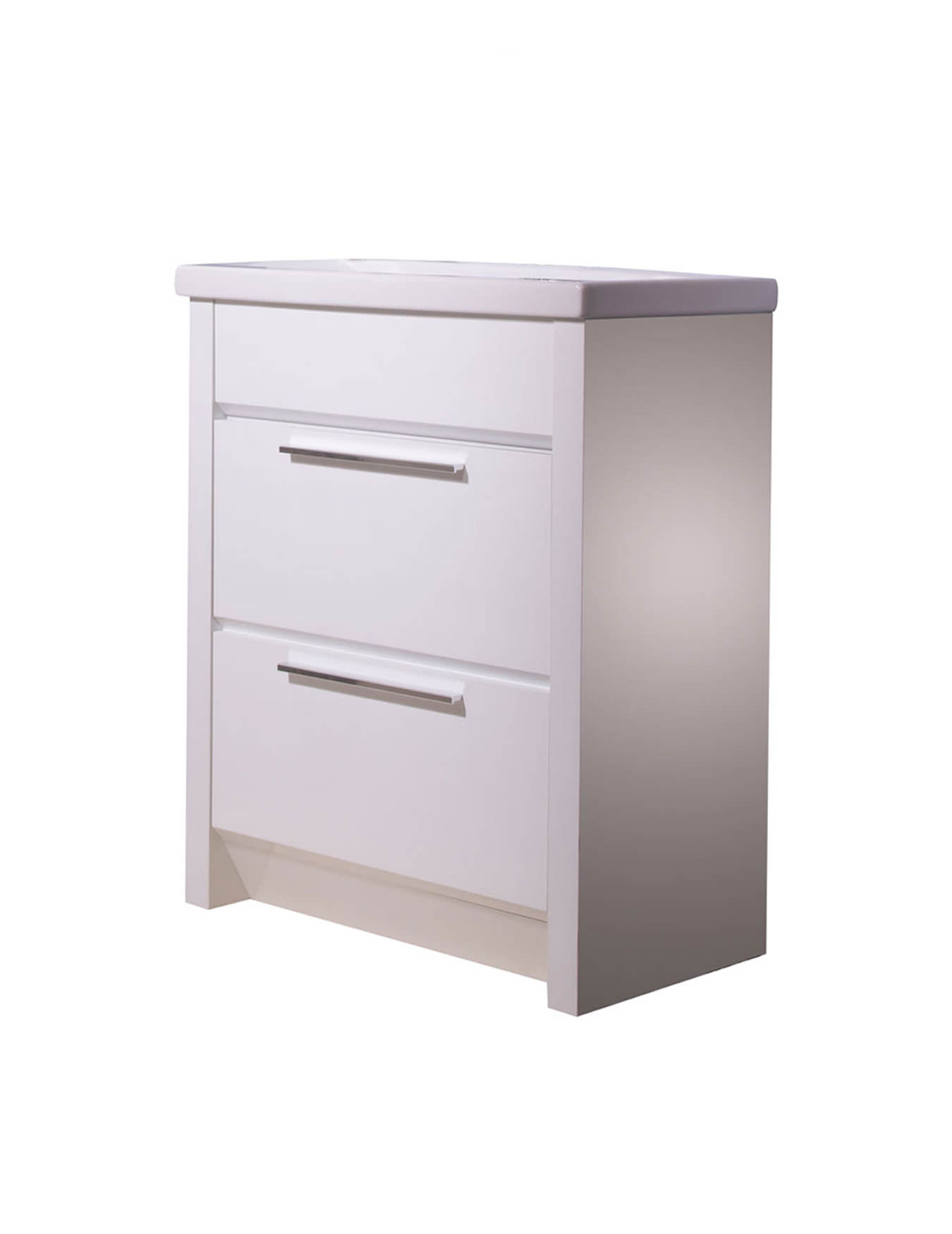 Roper Rhodes Kato 700mm White Freestanding Vanity Unit Including Basin