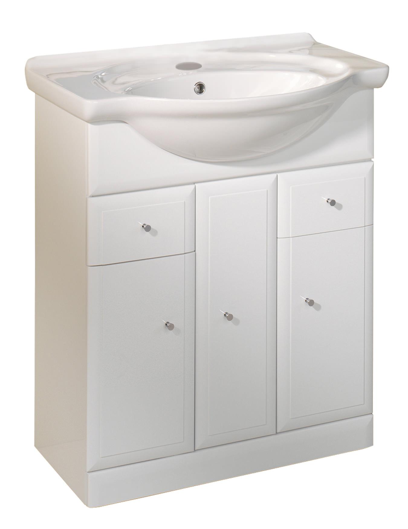 Bathroom Cabinets 700mm roper rhodes valencia 700mm freestanding unit including basin | vb700w