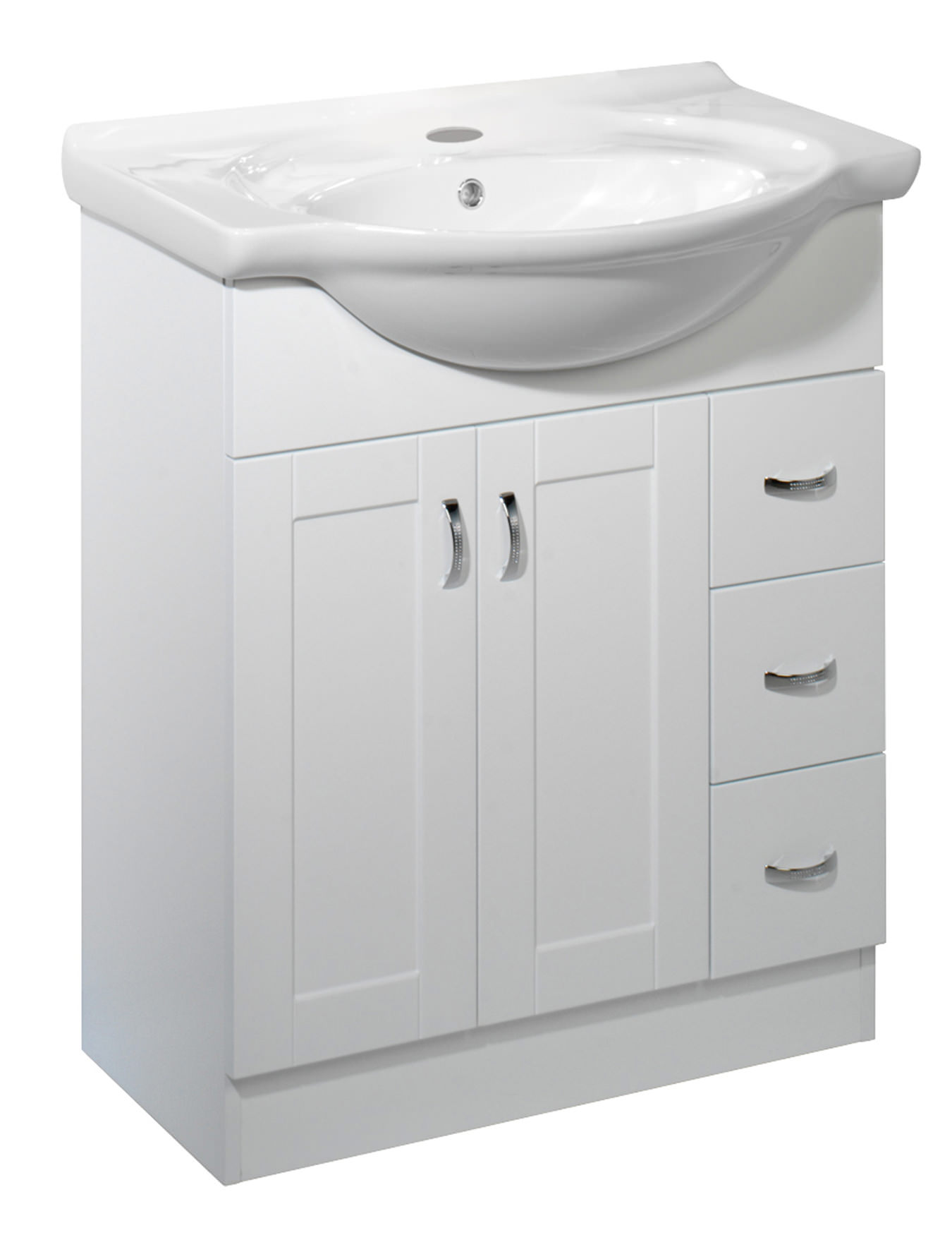 Roper Rhodes New England 700mm White Vanity Unit Excluding Basin Nvb7w