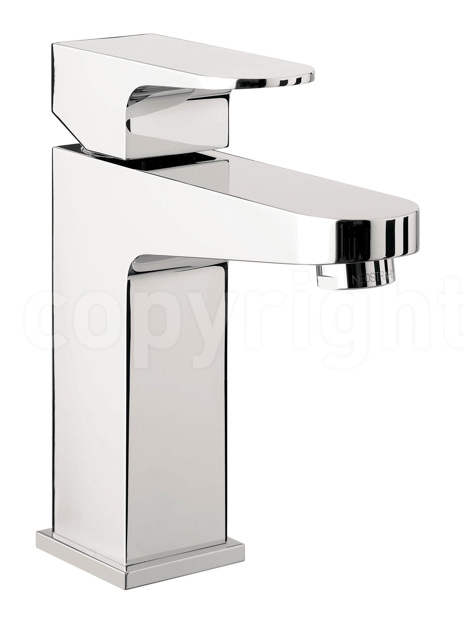 crosswater modest single lever monobloc basin mixer tap. Black Bedroom Furniture Sets. Home Design Ideas